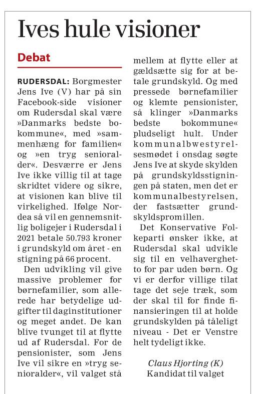 Klip fra Frederiksborg Amtsavis